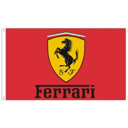 Ferrari Red Automotive 3'x 5' Flag
