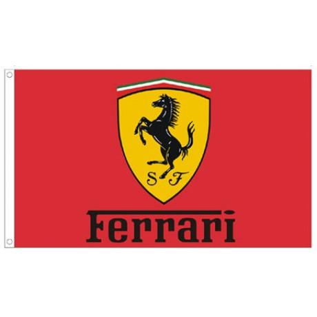 Ferrari Red Automotive 3'x 5' Flag