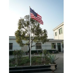 20' Telescoping Aluminum Flag Pole