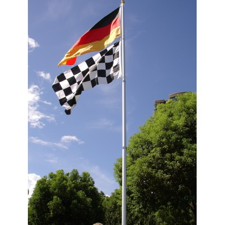 25' Telescoping Aluminum Flag Pole