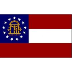 Georgia 3'x 5' State Flag