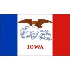 Iowa 3'x 5' State Flag