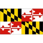 Maryland 3'x 5' State Flag