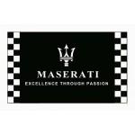 Maserati Black Checkered 3' x 5' Polyester Flag