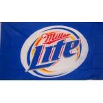 Miller Light Beer Premium 3'x 5' Flag