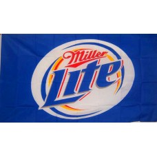 Miller Light Beer Premium 3'x 5' Flag
