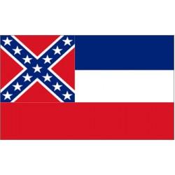 Mississippi 3'x 5' State Flag