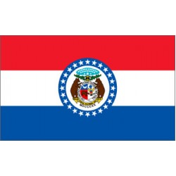 Missouri 3'x 5' State Flag