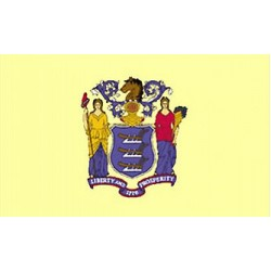 New Jersey 3'x 5' State Flag