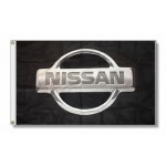 Nissan Logo Premium 3'x 5' Flag