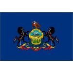 Pennsylvania 3'x 5' State Flag
