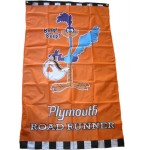 Plymouth Road Runner Vertical 3'x 5' Flag