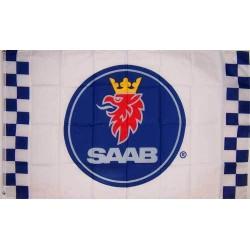 Saab Checkered Automotive 3' x 5' Flag