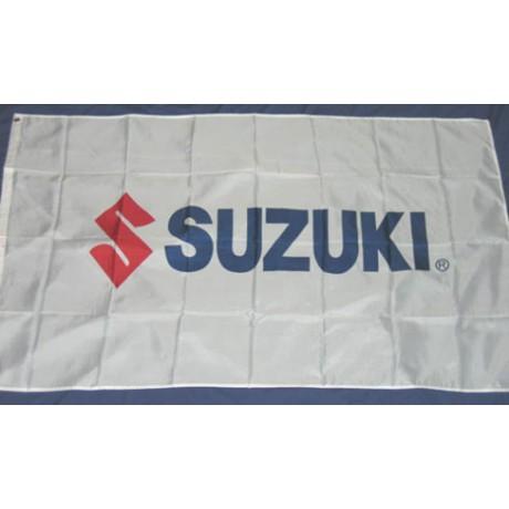 Suzuki Motors Logo Premium 3'x 5' Flag
