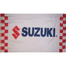 Suzuki Motors Racing Premium 3'x 5' Flag