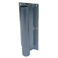 Steel Flat Wall Mount Flag Pole Holder Base